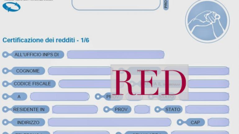 MODELLO RED: COS'È, CHI DEVE PRESENTARLO E COME